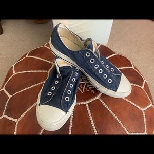Converse All Star Sneakers Navy Fits Women's 10